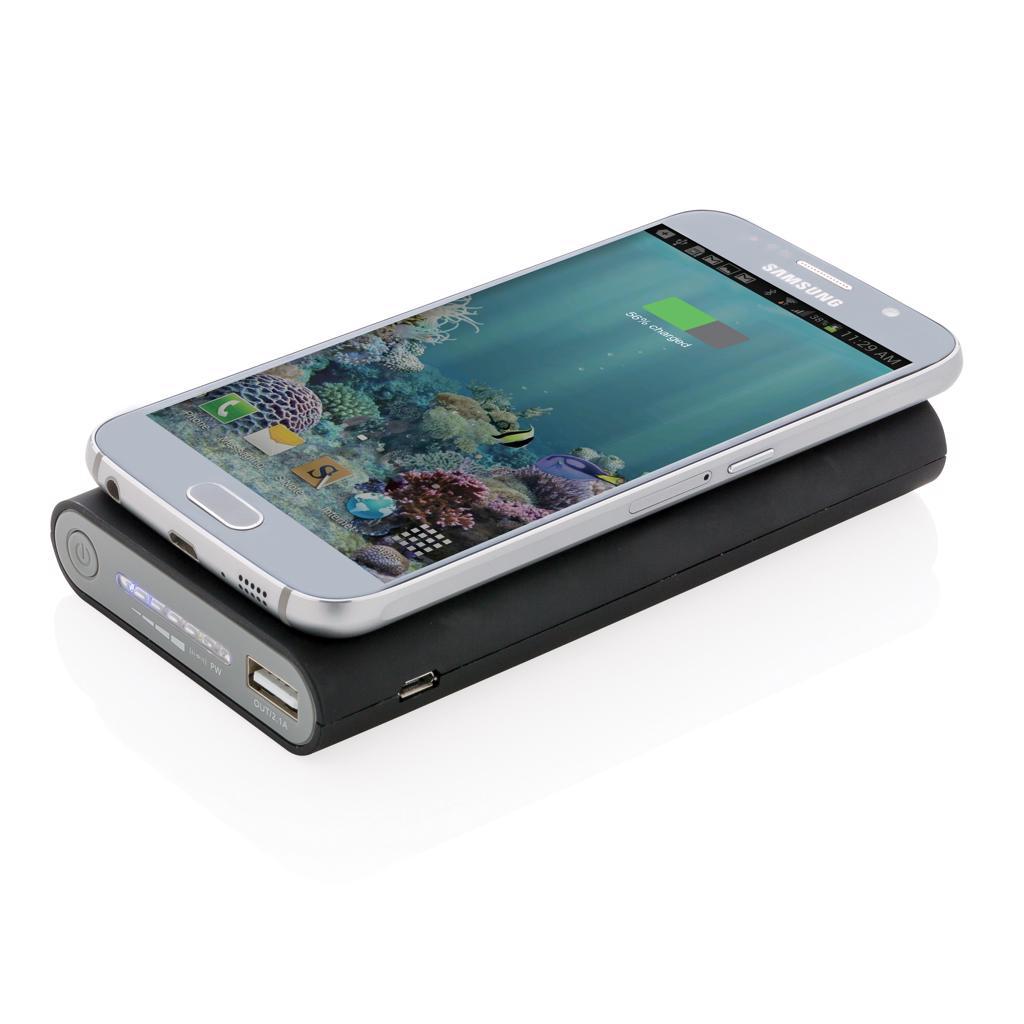 iPhone 8 and up.  Input: 2A. Output: 5V/2.1A. Wireless Output: 5V/1A 5W.