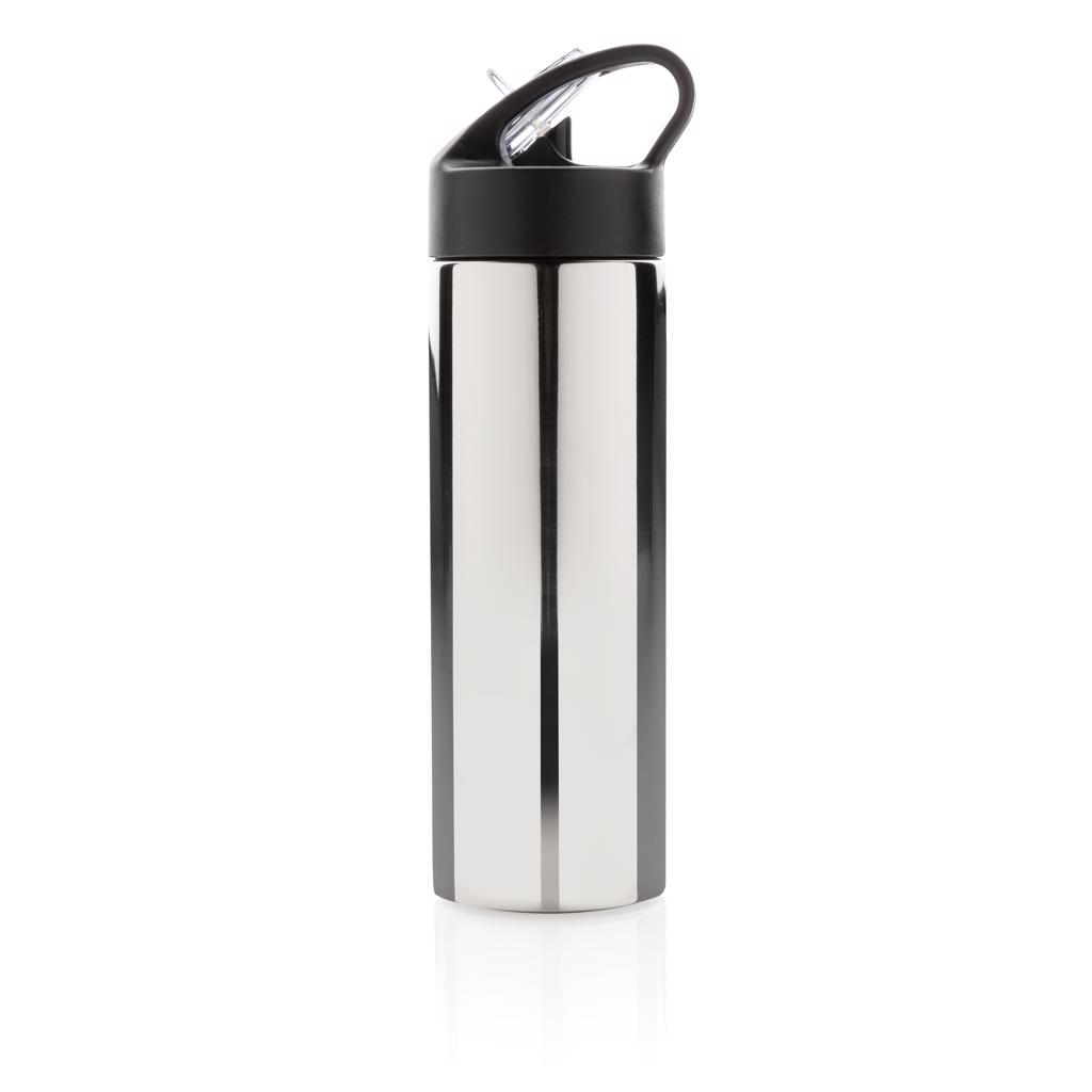 use and re-use this stainless steel sports bottle with practical straw to quench your thirst. Registered design®