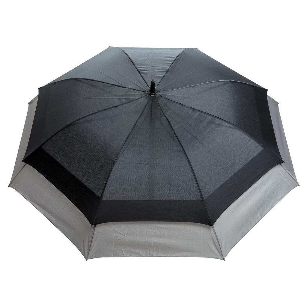 """the umbrella will automatically expand to a size of 27"""". This gives you more protection and makes it suitable for 2 people. Automatic open umbrella in 190T pongee polyester with metal shaft"""