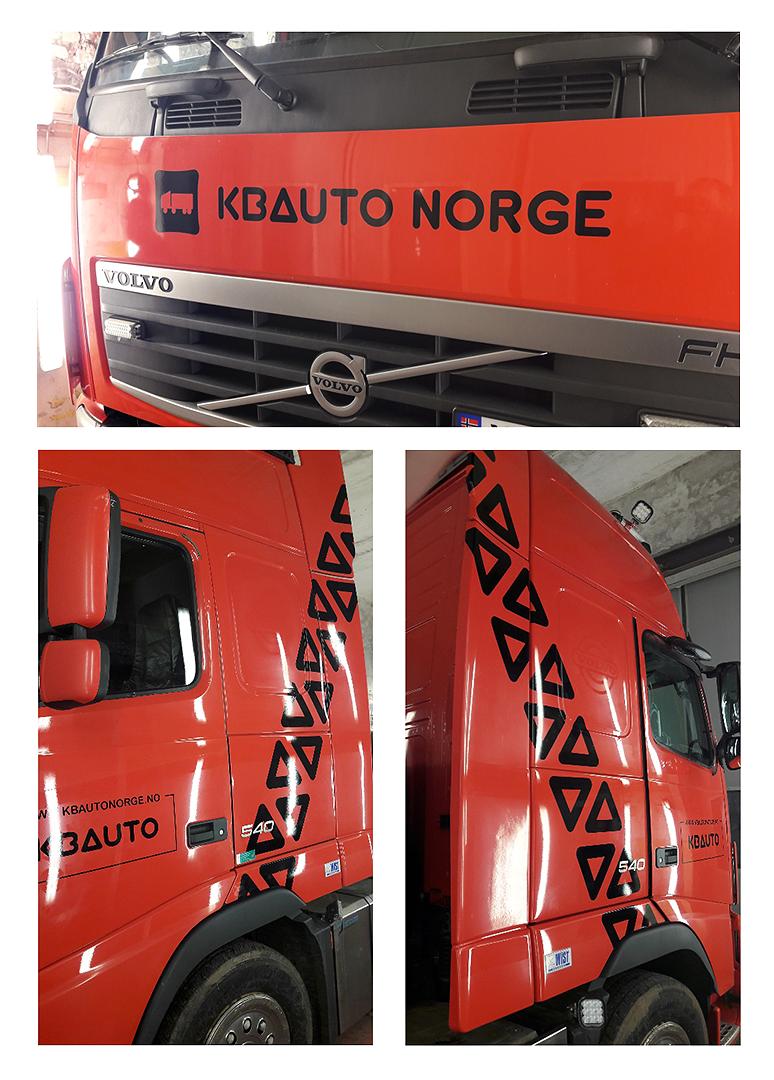 Kleebised KB Auto Norge autol.