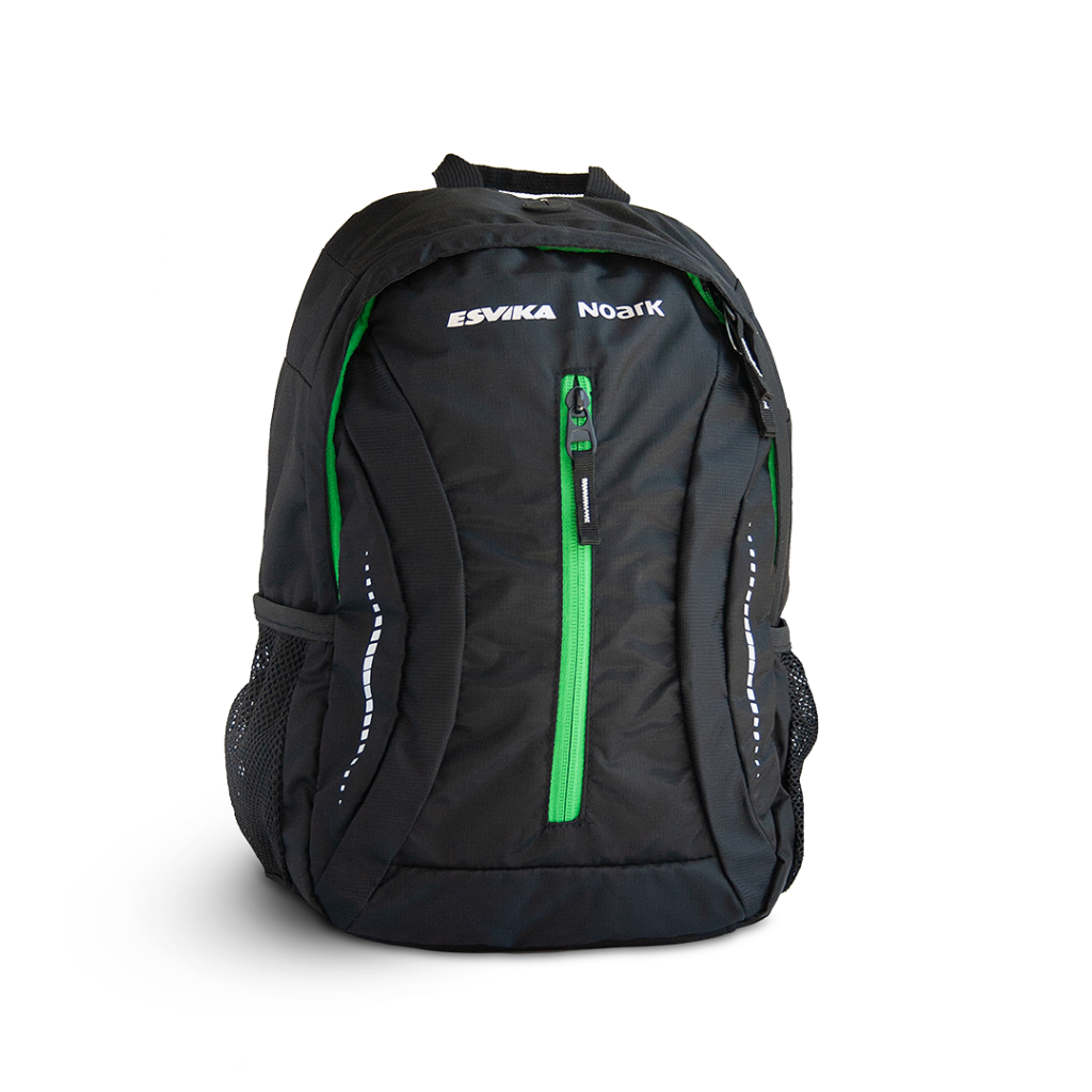 Esvika reflective backpack.